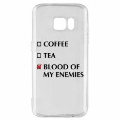 Чохол для Samsung S7 Blood of my enemies