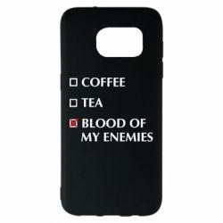 Чохол для Samsung S7 EDGE Blood of my enemies