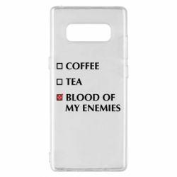 Чохол для Samsung Note 8 Blood of my enemies