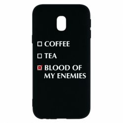 Чохол для Samsung J3 2017 Blood of my enemies