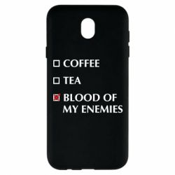 Чохол для Samsung J7 2017 Blood of my enemies