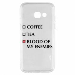 Чохол для Samsung A3 2017 Blood of my enemies