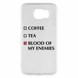 Чохол для Samsung S6 Blood of my enemies