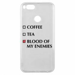 Чохол для Xiaomi Mi A1 Blood of my enemies