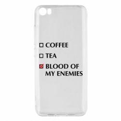 Чохол для Xiaomi Mi5/Mi5 Pro Blood of my enemies