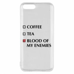 Чохол для Xiaomi Mi6 Blood of my enemies