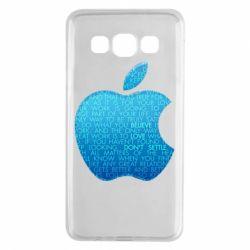 Чехол для Samsung A3 2015 Blue Apple