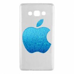 Чехол для Samsung A7 2015 Blue Apple