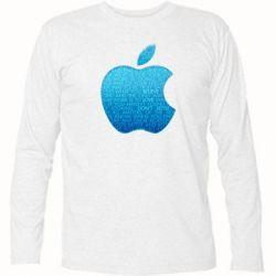 Футболка с длинным рукавом Blue Apple - FatLine