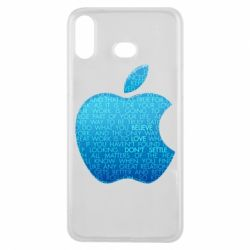 Чехол для Samsung A6s Blue Apple
