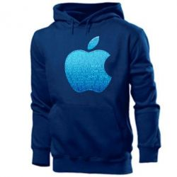 Мужская толстовка Blue Apple - FatLine