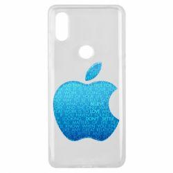 Чехол для Xiaomi Mi Mix 3 Blue Apple