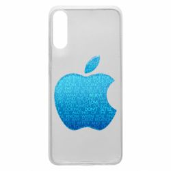 Чехол для Samsung A70 Blue Apple