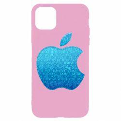 Чехол для iPhone 11 Pro Blue Apple