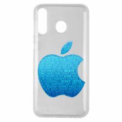 Чехол для Samsung M30 Blue Apple