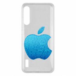 Чохол для Xiaomi Mi A3 Blue Apple