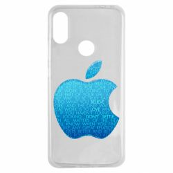 Чехол для Xiaomi Redmi Note 7 Blue Apple