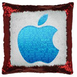 Подушка-хамелеон Blue Apple