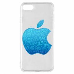 Чехол для iPhone 8 Blue Apple