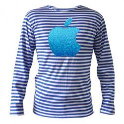 Тельняшка с длинным рукавом Blue Apple - FatLine