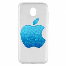 Чехол для Samsung J5 2017 Blue Apple