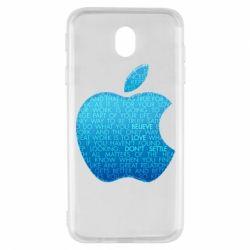 Чехол для Samsung J7 2017 Blue Apple