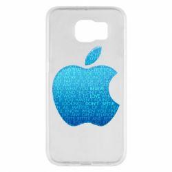 Чехол для Samsung S6 Blue Apple