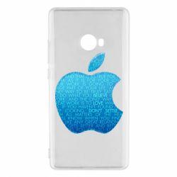 Чехол для Xiaomi Mi Note 2 Blue Apple