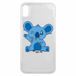 Чехол для iPhone Xs Max Blue koala