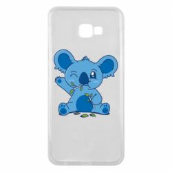 Чехол для Samsung J4 Plus 2018 Blue koala