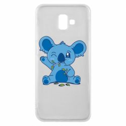 Чехол для Samsung J6 Plus 2018 Blue koala