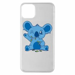 Чехол для iPhone 11 Pro Max Blue koala