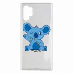 Чехол для Samsung Note 10 Plus Blue koala