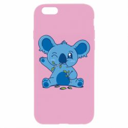Чехол для iPhone 6 Plus/6S Plus Blue koala
