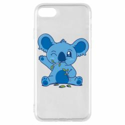 Чехол для iPhone 7 Blue koala