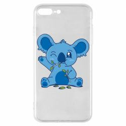 Чехол для iPhone 7 Plus Blue koala