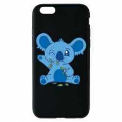 Чехол для iPhone 6/6S Blue koala