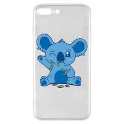 Чехол для iPhone 8 Plus Blue koala
