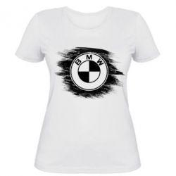 Купить Женская футболка БМВ арт, BMW art, FatLine