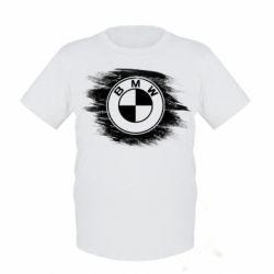 Купить Детская футболка БМВ арт, BMW art, FatLine