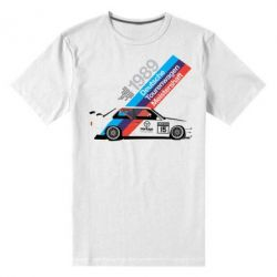 Мужская стрейчевая футболка BMW 1989
