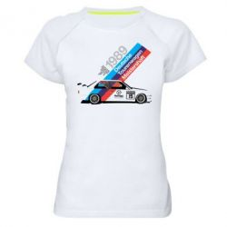 Женская спортивная футболка BMW 1989