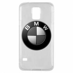 Чохол для Samsung S5 BMW Black & White - FatLine