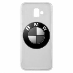Чохол для Samsung J6 Plus 2018 BMW Black & White - FatLine