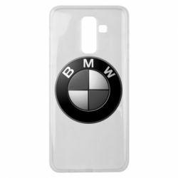 Чохол для Samsung J8 2018 BMW Black & White - FatLine