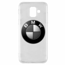Чохол для Samsung A6 2018 BMW Black & White - FatLine