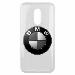 Чохол для Meizu 16 plus BMW Black & White - FatLine