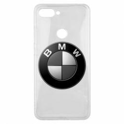 Чохол для Xiaomi Mi8 Lite BMW Black & White - FatLine