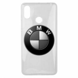 Чохол для Xiaomi Mi Max 3 BMW Black & White - FatLine