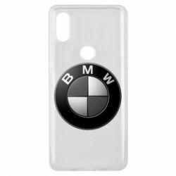 Чохол для Xiaomi Mi Mix 3 BMW Black & White - FatLine